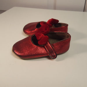 MYGGPP Red Soft Soled Shoes